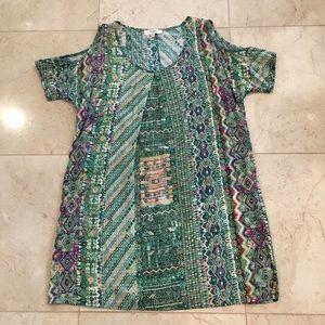 UMGEE Cold Shoulder Dress